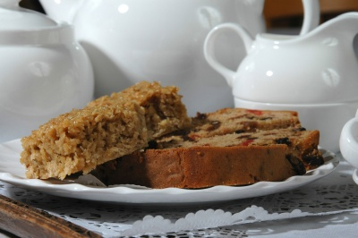 Afternoon tea with home-made cake